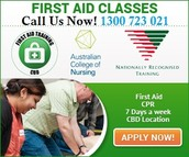Sydney First Aid Training Course and Certification