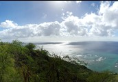 A view from the top of Diamond Head