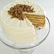 Happy Birthday White Chocolate Cake-YUMMY!