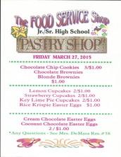 Jr./Sr. Pastry Shop!