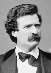 Mark Twain was born on November 30, 1835 in the USA, in a small town - Florida, on the banks of the Mississippi River.