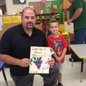 Donuts for Dads! Preschool Celebrates in Advance of Fathers' Day
