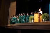 Recognizing graduates!