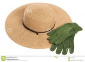 Mama's gardening hat