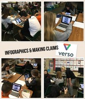 Verso in action! Students supporting claims with evidence