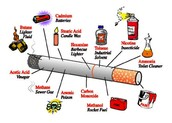 All of the harmful things in cigarettes...