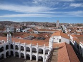 Bolivia's lovely Capitol, Sucre.