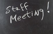 2.10.16 Staff Meeting