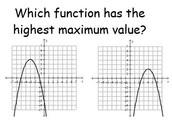 Unit 2 Lesson 2: Comparing Quadratic Functions