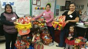 Holiday Baskets for our Families