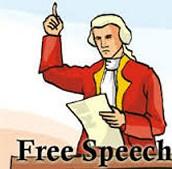 Bill 1: Freedom Of Speech