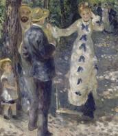 The swing, Renoir, 1876