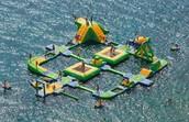 Castillos hinchables acuáticos