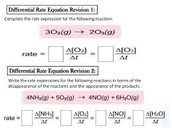 Example using stoichiometry to equate rates