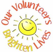 Volunteer Celebration:  Tues., May 31st