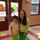 Ms. Coute with her student, Susan