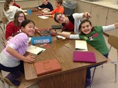 5th Graders learning how to shade!