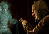 Ebenezer Scrooge and Jacob Marley's ghost