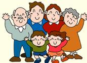 """""""משפחה היא מקום בו חיים מתחילים ואהבה לעולם לא נגמרת.."""""""