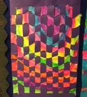 First Grade Paper Weaving