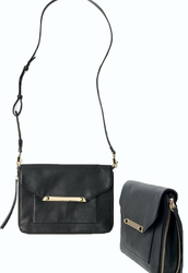 SOLD- TIA CROSS BODY -- BLACK