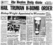 1950 Truman orders H-Bomb