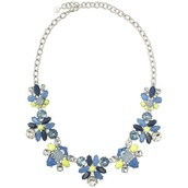 Blue Elodie Necklace $30