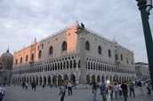 Palazzo Ducale (otherwise known as the Doge's Palace)