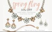 Spring Fling Sale !