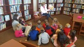 Story time with Mrs. Storms