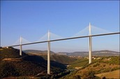 A Section of The Millau Viaduct