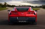Red Corvette Stingray 2015