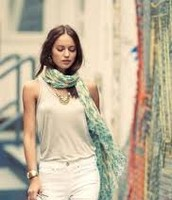 Union Square Scarf - Pastel Ikat was £45 NOW £22.50
