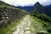 Incas created the road systems