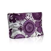 Medium Thermal Zipper Pouch - Plum Awesome Blossom