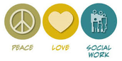 Peace, love, and social work!