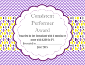 Consistent Performer