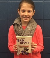 "Ava Yelton says, ""I love to read"