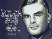 Quote from Alan Turing