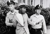 MLK being arrested while looking super swagger.
