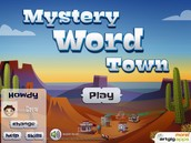 Mystery Word Town-Sight Word Spelling