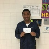 Student of the Month!