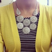Medina Bib Necklace - SOLD