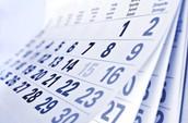 Meeting Dates: