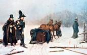 А. С. Пушкин едет на дуэль