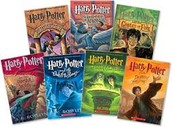 "All of J.K Rowling's ""Harry Potter"" Books"