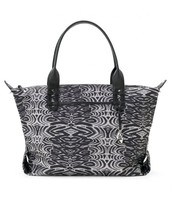 How Does She Do It Bag-Painted Zebra- SOLD
