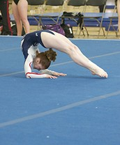 Gymnastics is very hard!!!