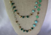 Aileen Long Layering Necklace ((SOLD))