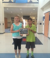 6th Grade August Students of the Month